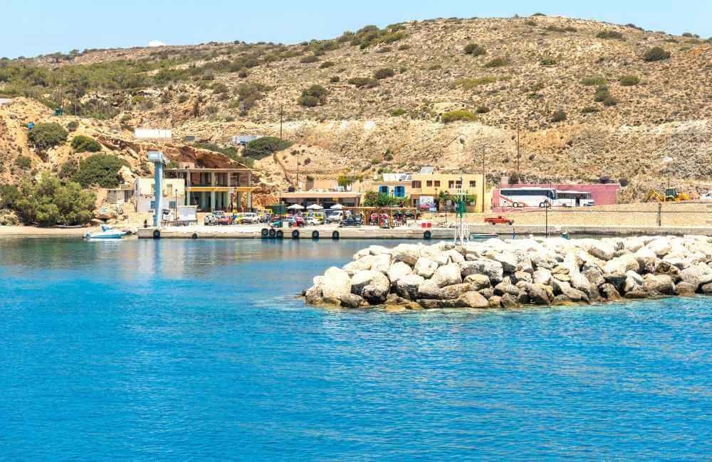 GREECE - CRETE - GAVDOS - KARABE port