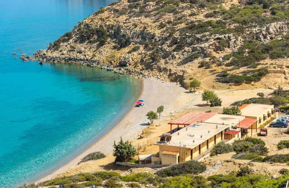 GREECE-CRETE-GAVDOS-KORFOS-BEACH-AND-TAVERNAS