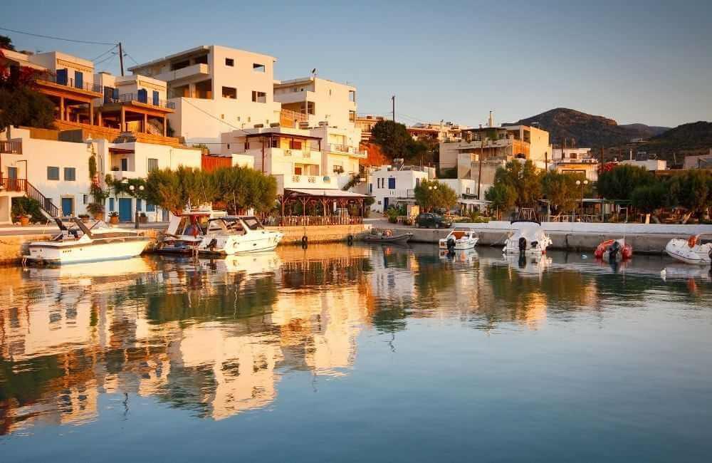 GREECE-CRETE-LASITHI-MAKRI-GIALOS-HARBOR