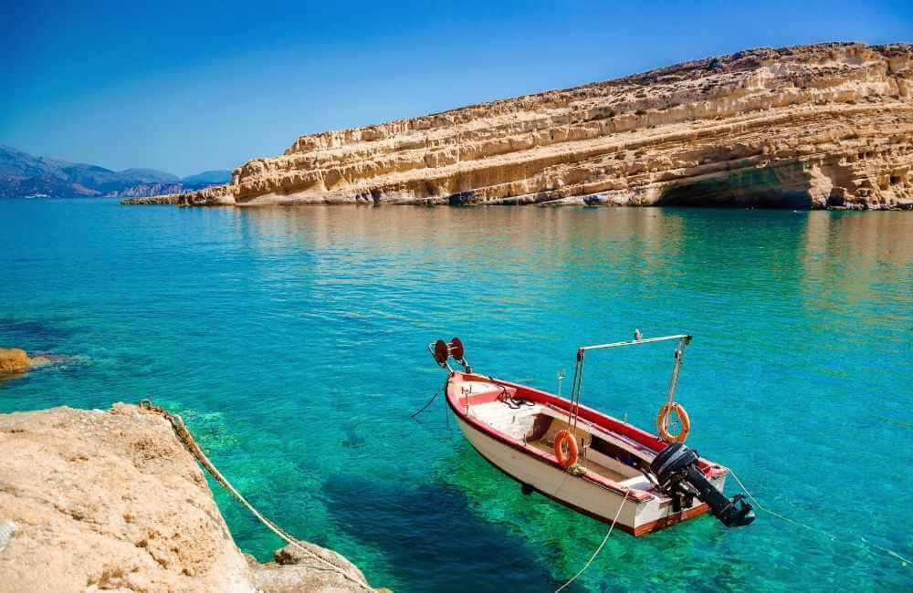 GREECE-CRETE-MATALA-WATERS