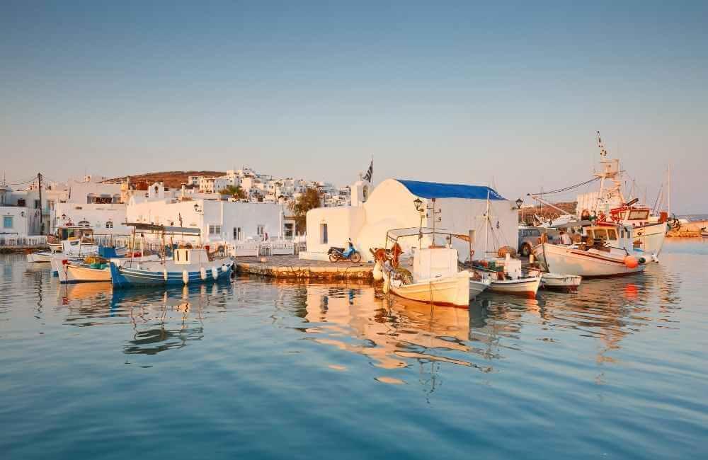 Greece - Paros - Port