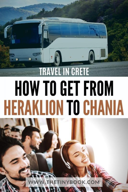 How to travel from Heraklion to Chania
