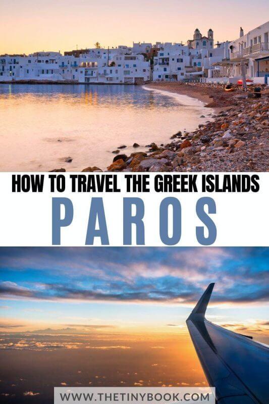 How to get to Paros, Greece