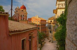 GREECE- CORFU - TOWN (1)