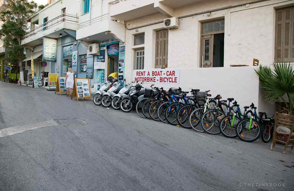 GREECE - CRETE - PALEOCHORA BIKES