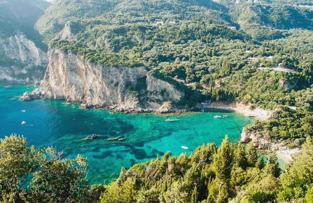 GREECE - CORFU - PALEOKASTRITSA (1)