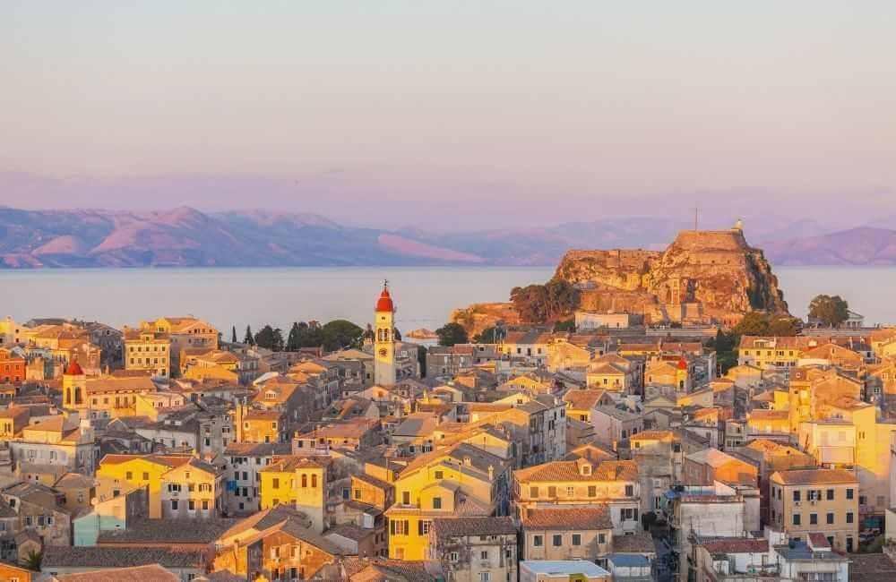 GREECE-CORFU-oldtown-1