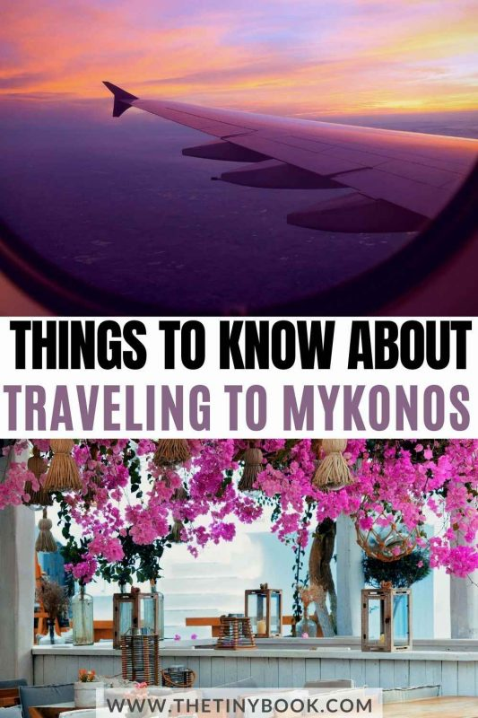How to get to Mykonos, Greece