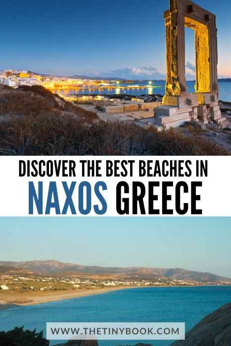 Best beaches and archaeological sites in Naxos