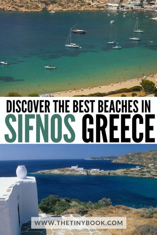 The most amazing beaches on Sifnos island, Greece