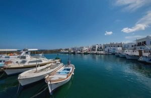 Paros Port and caiques