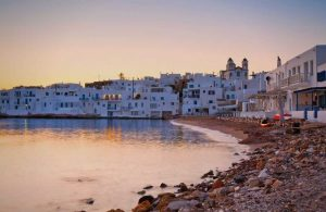 Greece, Paros, Naoussa, Seaside