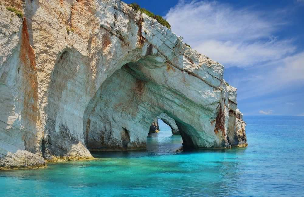 Hidden places in Greece - ZAKYNTHOS, BLUE CAVES