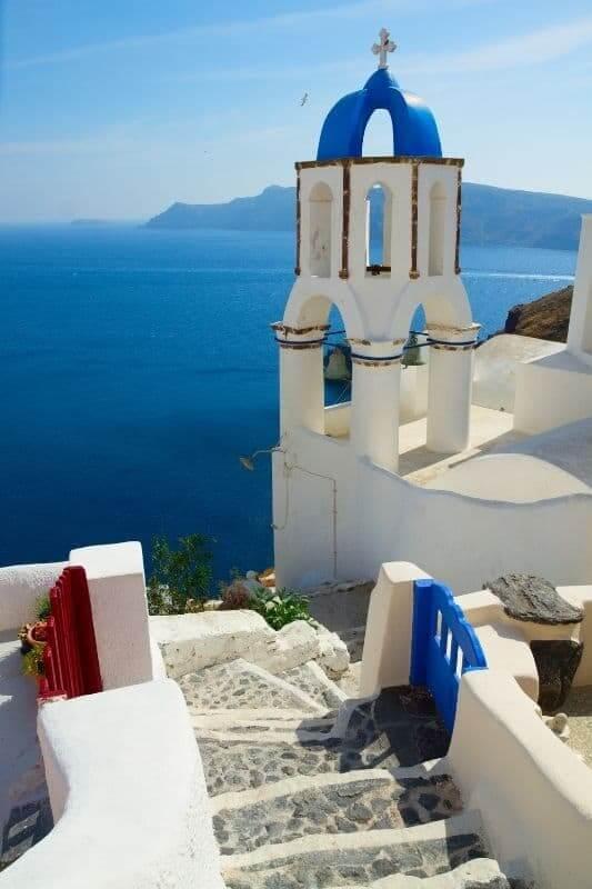Oia Chuch, Santorini, Greece