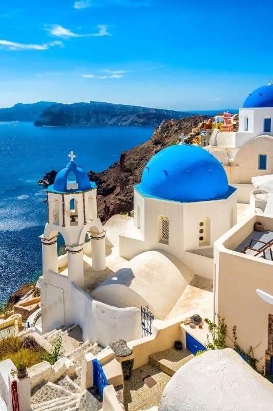 Oia Chuches, Santorini, Greece