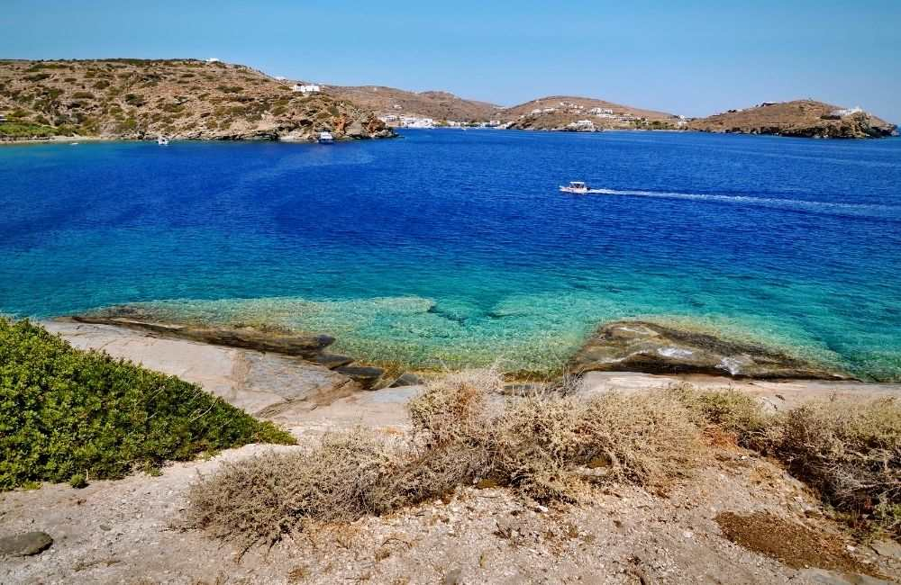 Greece - Sifnos - BEST BEACHES IN SIFNOS, Beach near Chrisopigi
