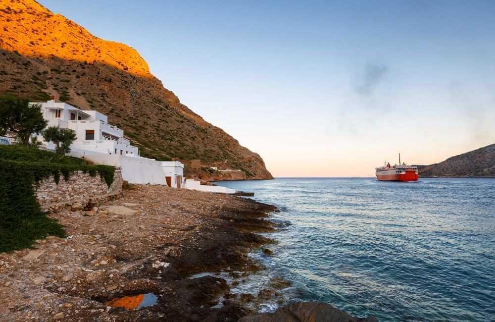 Greece - Sifnos - Kamares port