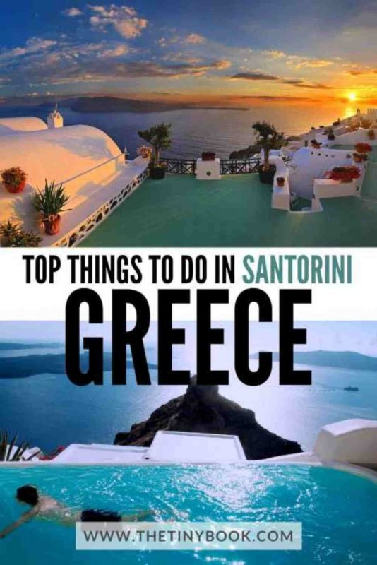 Best things to do in Santorini, Greece