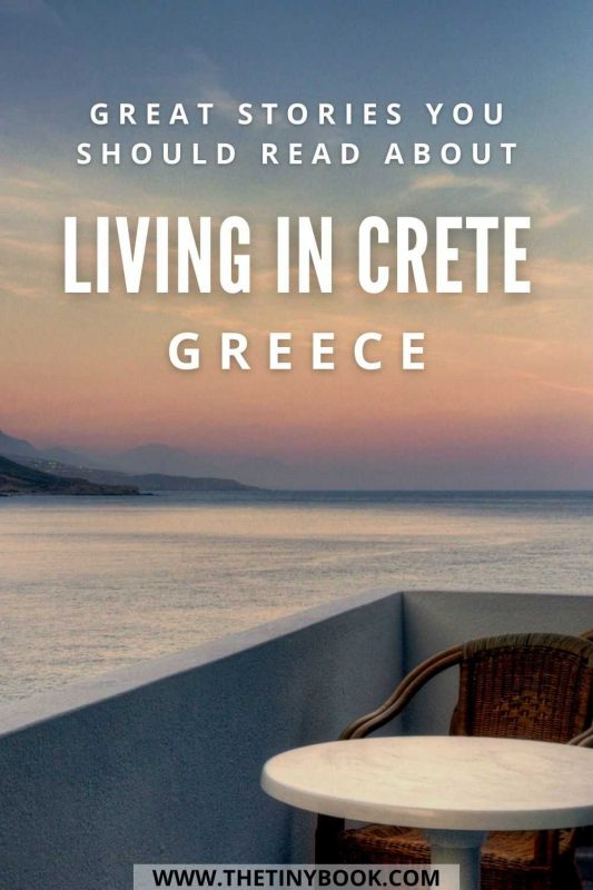 Best books about moving to Crete