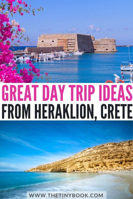 Fantastic day trips from Heraklion, Crete