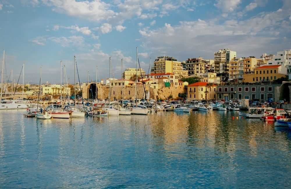 Greece - Crete - Heraklion, Port