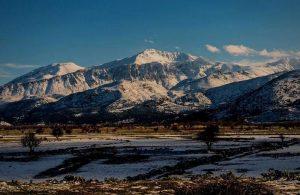 Greece - Crete - Lasithi, Lasithi Plateau in Winter