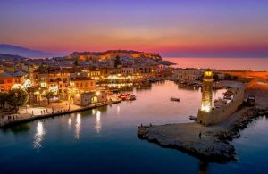 Rethymnon at Night
