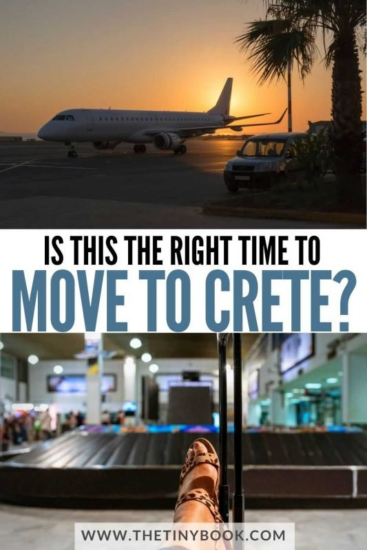Is this the time to move to Crete?
