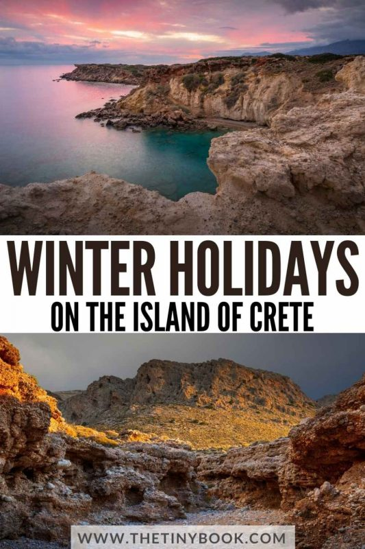 Winter in Crete, Greece