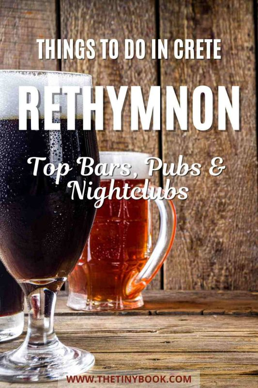 Great Bars & Pubs in Rethymnon That Both Locals and Travelers Love!