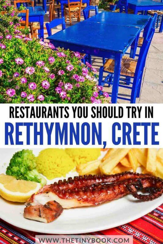 Best restaurants in Rethymnon, Crete