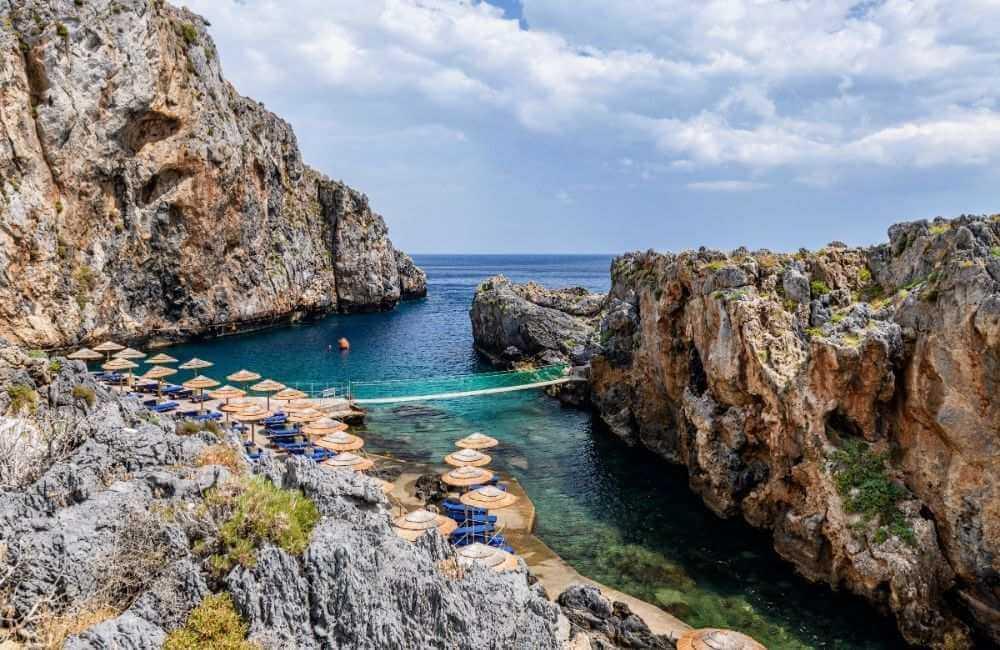 GREECE - CRETE - RETHYMNON - CALYPSO