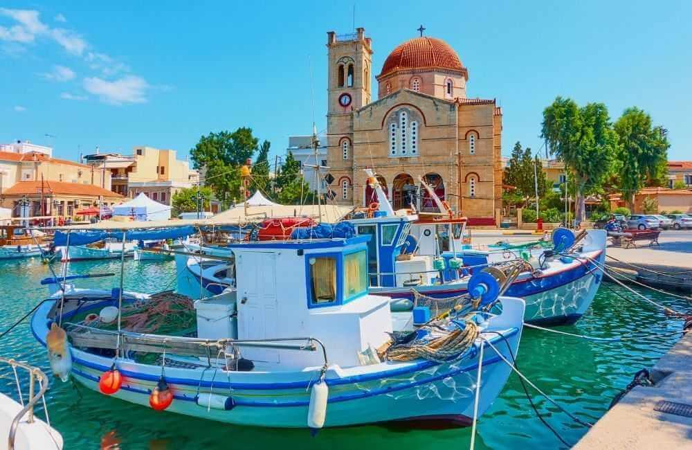 Greece - Aegina island - Port