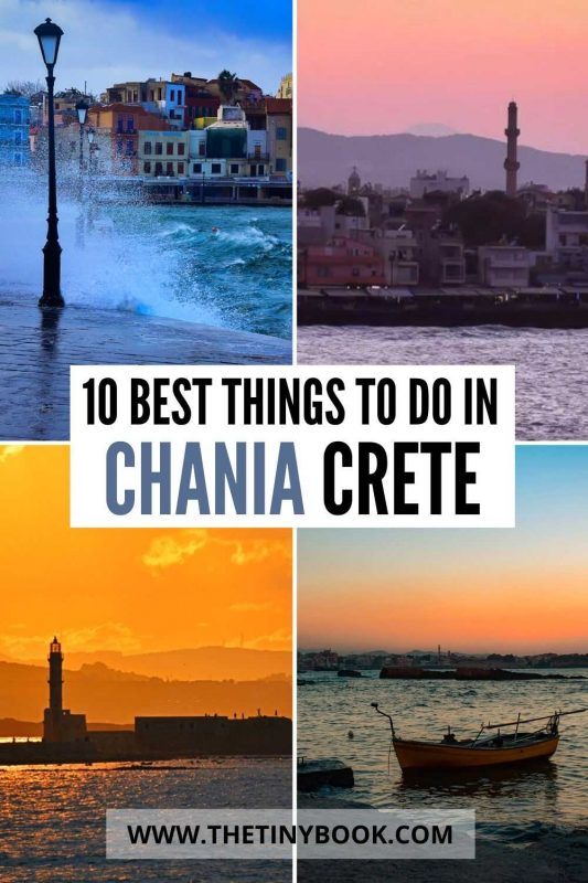 Best things to do in Chania, Crete.