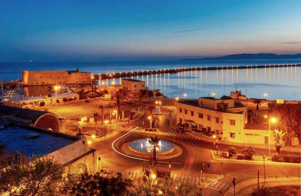 Best things to do in Heraklion at Night