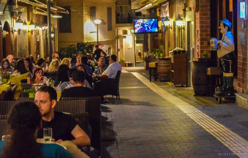 Things to do in Heraklion at night