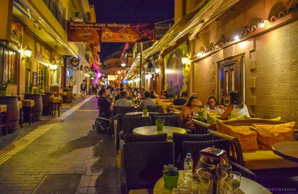What to do in Heraklion Crete at night