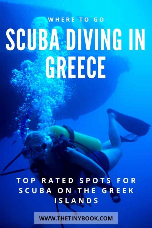 Best scuba diving spots in Greece