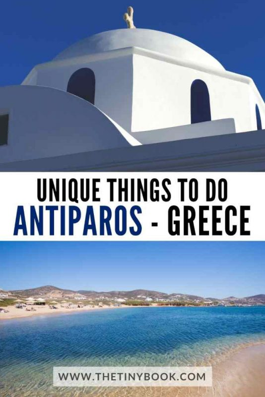 Unique things to do in Antiparos, Greece