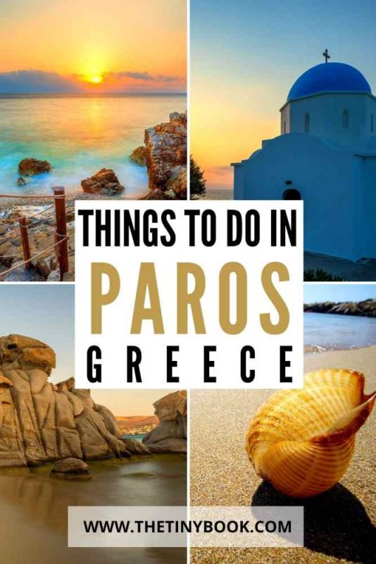 things to do in Paros, Greece