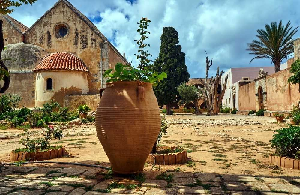 greece - crete - rethymnon - arkadi - arkadi monastery museum