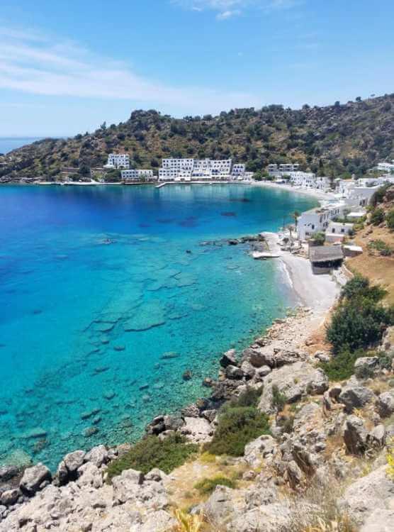 Hike to Loutro, Crete