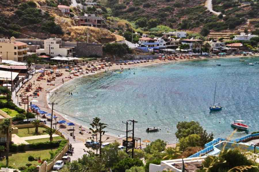 Lygaria Beach in Heraklion