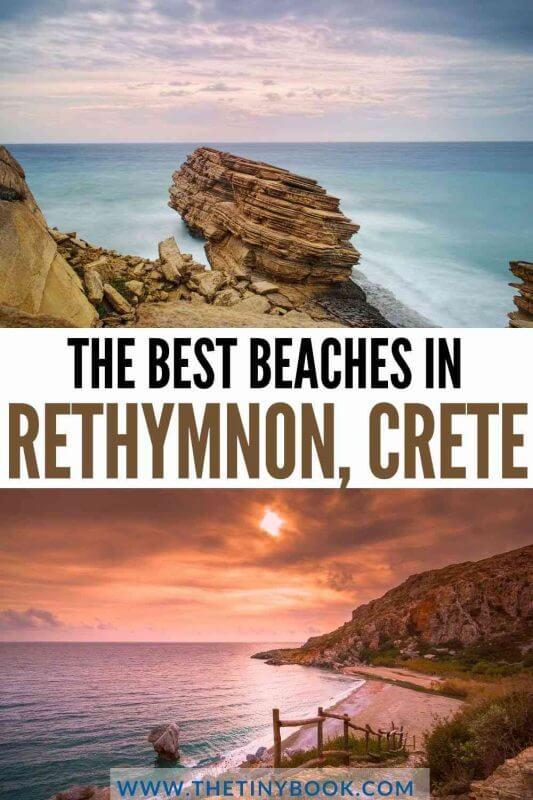The Best Beaches in Rethymnon, Crete