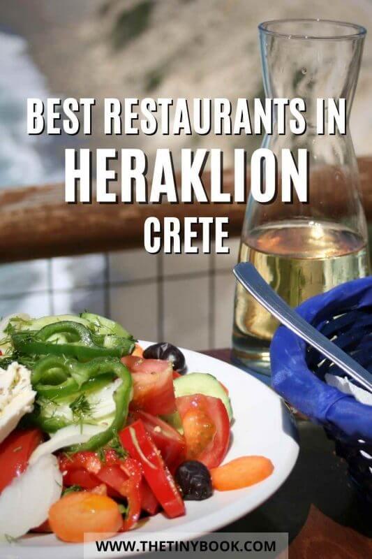 The most delicious restaurants in Heraklion, Crete