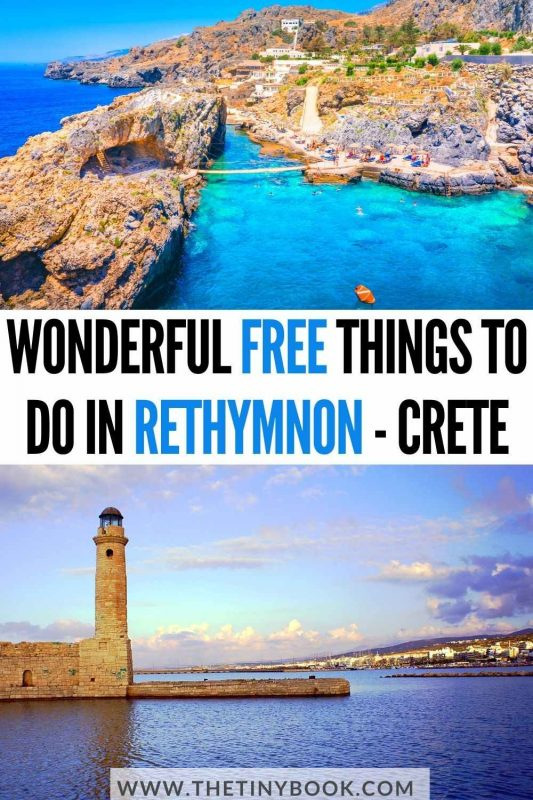 Wonderful things to do in Rethymnon, Crete, for free!
