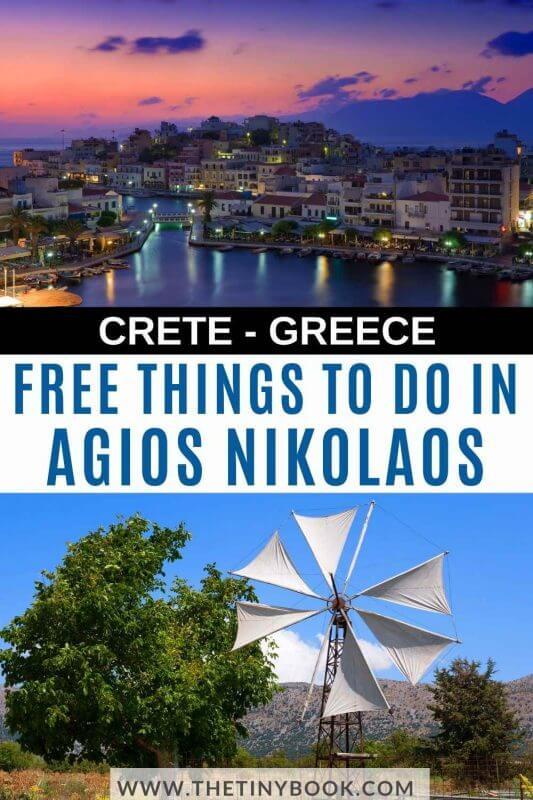 Free Things to Do in Agios Nikolaos