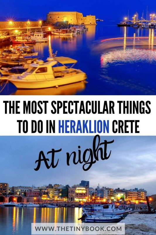 Best things to do in Heraklion at night (Crete)