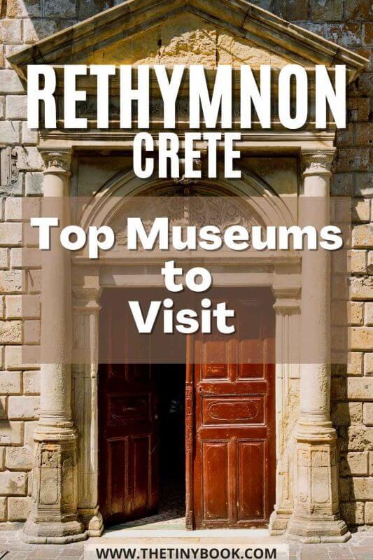 Best museums in Rethymnon - Crete