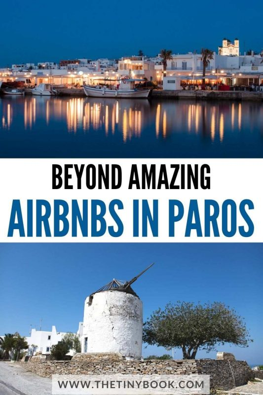 Discover the best vacation homes in Paros, Greece